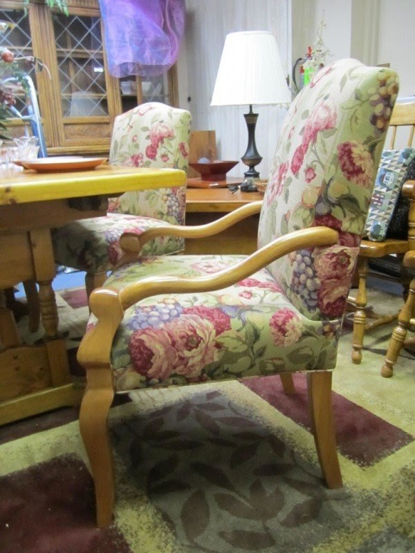 floral upholstered chair patio recliner cushions accent ideas on foter chairs