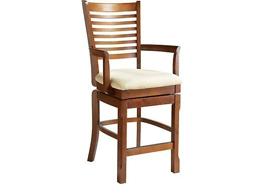 counter height arm chairs outdoor portable ideas on foter of maguire cherry chair from