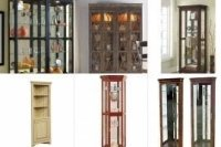Solid Wood Curio Cabinets - Foter