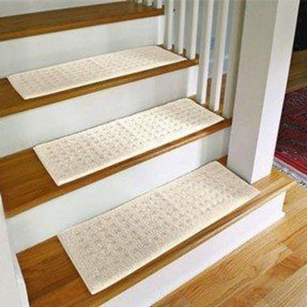 Carpet Treads For Wood Stairs Ideas On Foter | Carpet Styles For Stairs | Bound | American Style | Traditional | Curved Stair | Tuftex