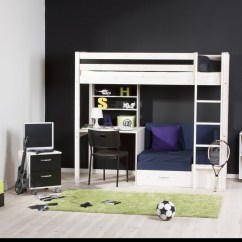 Loft Bed With Desk And Futon Chair Dining Room Sets Wheels On Chairs Bunk Ideas Foter Beds Couch