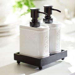 Kitchen Soap Caddy Ikea Renovation Ideas Dispenser On Foter Rhodes Ceramic Figural Book Lotion