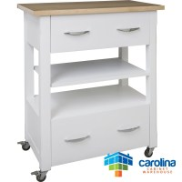 Small Kitchen Cart With Drawers - Foter