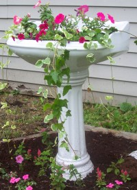 Bird Bath Pedestal - Foter
