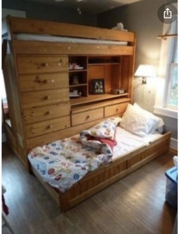 Loft Bed With Desk And Trundle Foter