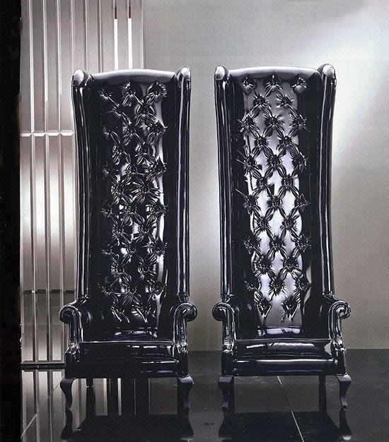 Decor High Back Arm Chair  Foter