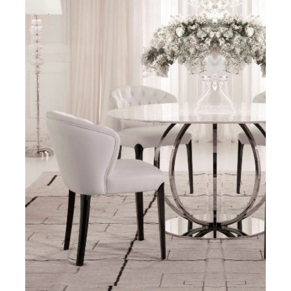 White Round Dining Room Tables