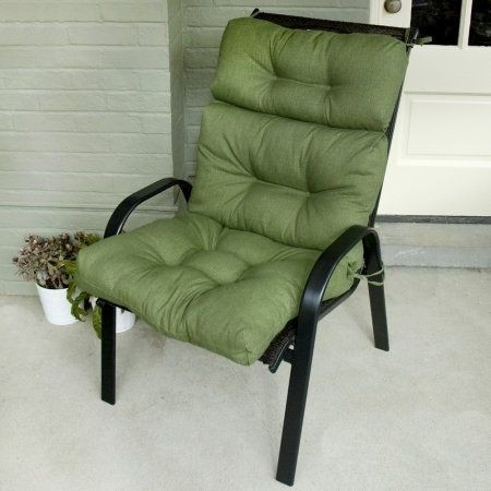 patio high back chair cushions best quality wheelchair ideas on foter pillows outdoor solid colors