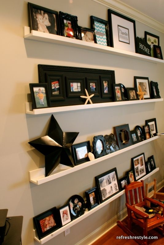 Decorative Ledge Shelves