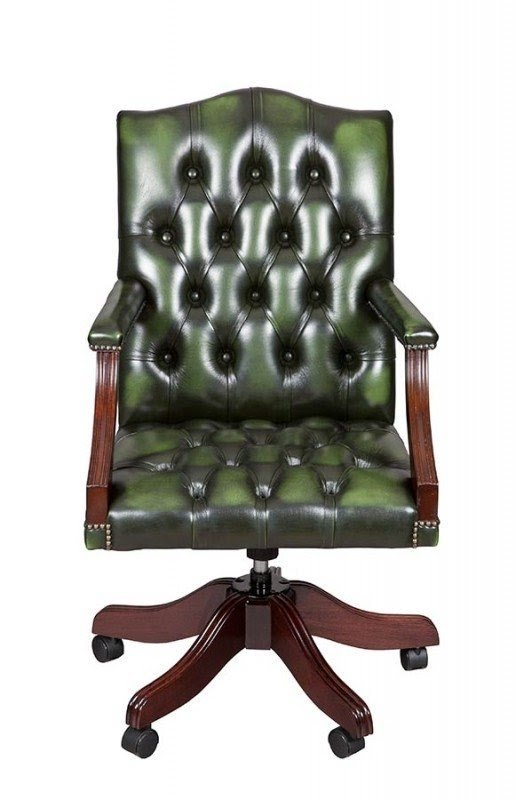 wood and leather office chair online green desk ideas on foter gainsborough style swivel