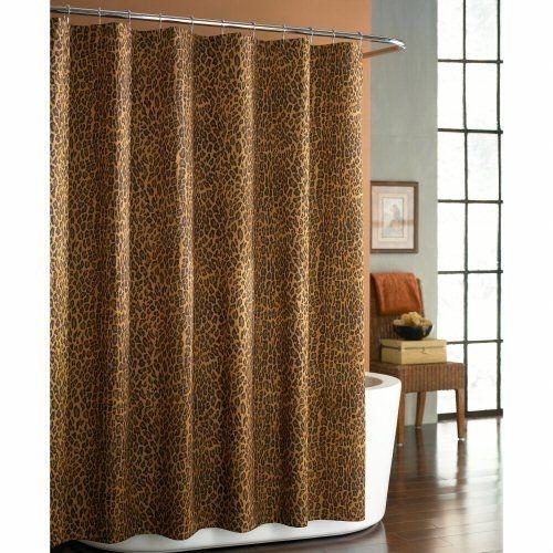 https foter com leopard print shower curtain