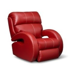 Red Recliner Chairs Back Pack Beach Leather Recliners Ideas On Foter Reclining Sofa