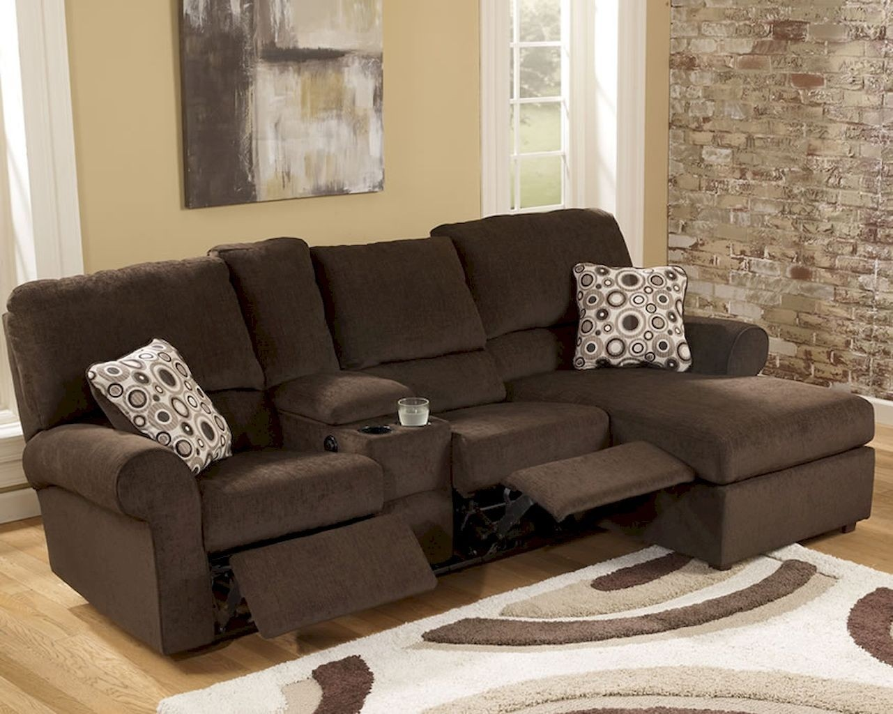 leather sectionals for small living rooms room colours to go with grey sofa sectional recliner ideas on foter spaces