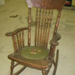 Old Fashioned Rocking Chairs Lazy Boy Recliner Chair Covers Antique - Foter
