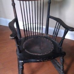 Antique Rocking Chair Identification Baby Shower Decorations Chairs Ideas On Foter Furniture Identifying An Windsor
