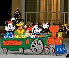 Outdoor Christmas Train Decoration 1