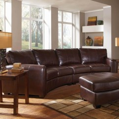 Curved Sectional Sofa Leather English Roll Arm Uk Ideas On Foter Black Landen Contemporary