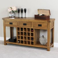 Wine Rack Buffet Table - Foter