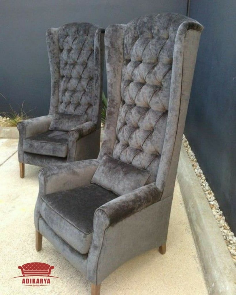 fancy folding dining chairs office chair recliner wing back - foter