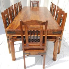 10 Chair Dining Table Set Floating Fishing Large Room Tables Seats Ideas On Foter Chairs For Seat People Solid
