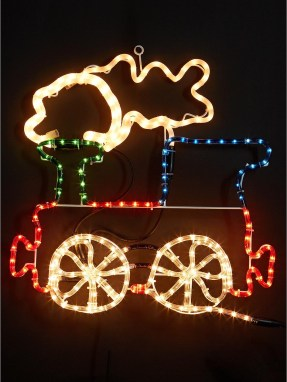 Train Christmas Decorations Outdoor