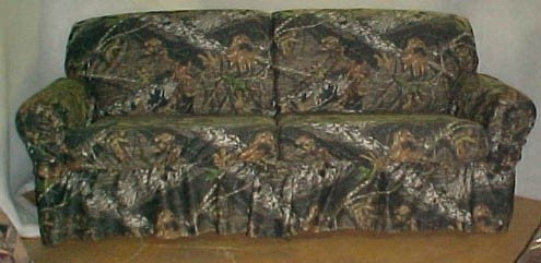 camo couch covers ideas