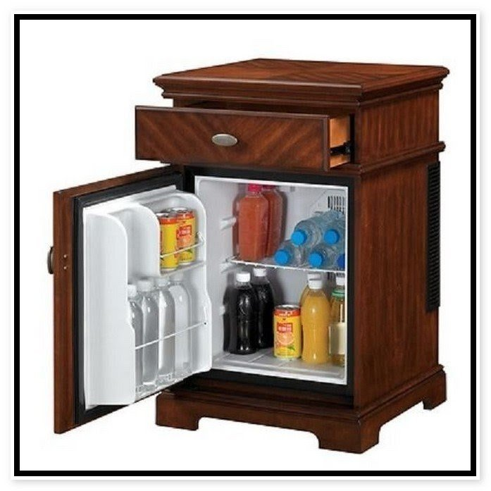 mini refrigerator cabinet bar ideas