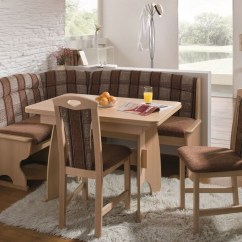 Corner Booth Seating Kitchen Cabinets Organizers Bench Dining Table Set Ideas On Foter Luzern Nook Expandable