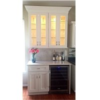 Bar Cabinet With Wine Refrigerator - Foter