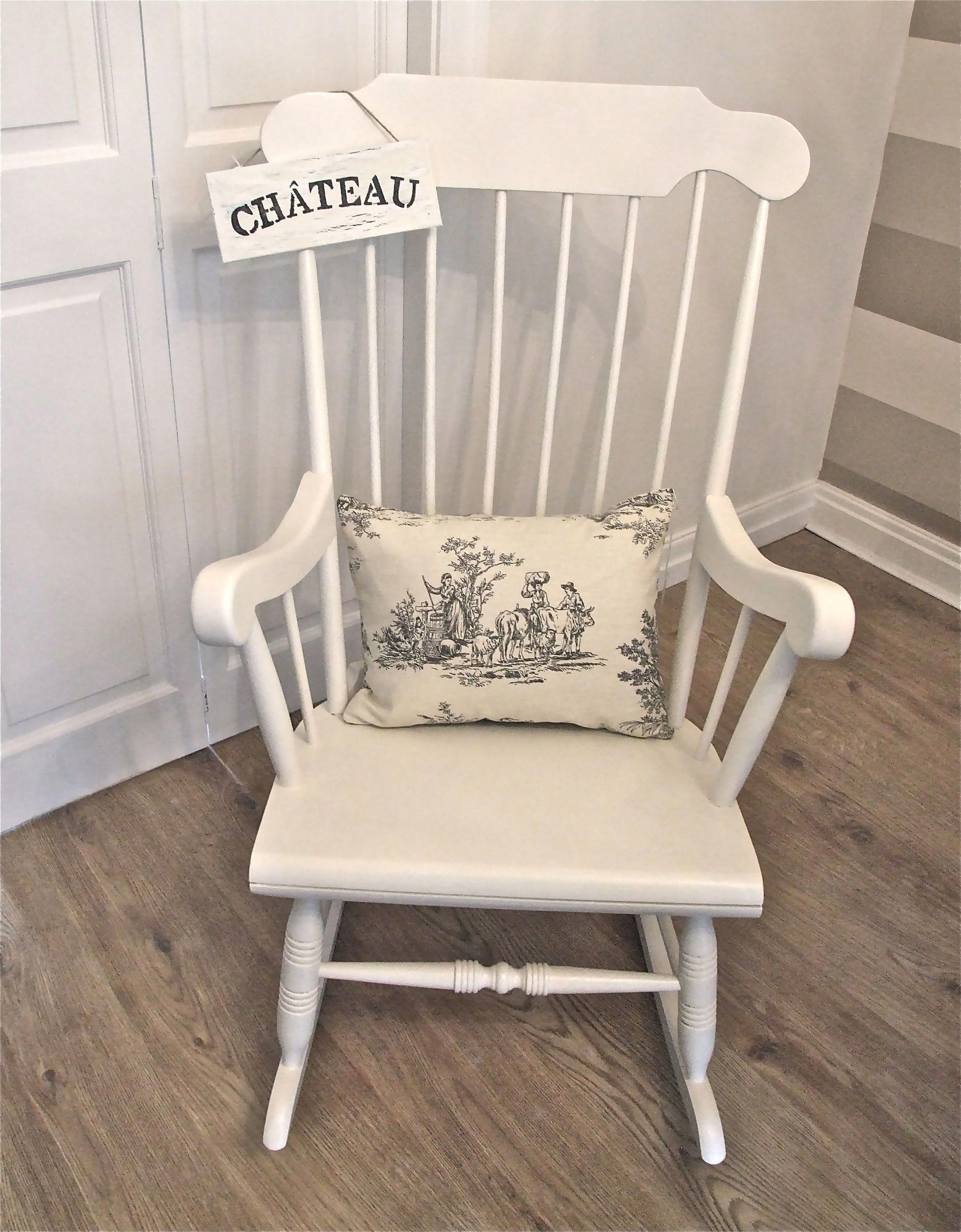 rocking chair for nursery kitchen chairs on casters wood ideas foter wooden 1