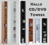 Tall Dvd Tower - Foter
