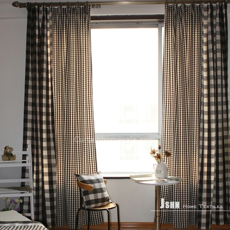 Cute Ribbons Wallpaper Black And White Plaid Curtains Foter