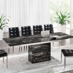 Marble Living Room Furniture Design Ideas With Gray Walls Black Dining Table Set On Foter 1