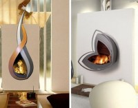 Small Wall Mount Electric Fireplace - Foter