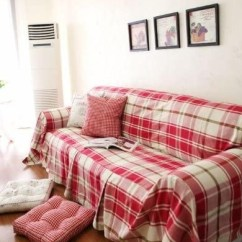 Sure Fit Black Sofa Slipcover Bed And Shop Plaid Slipcovers Highland Holiday ...