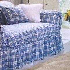 Pattern For Loose Sofa Cover Four Seater Corner Country Style Slipcovers Ideas On Foter Sure Fit Shabby Cottage Plaid Slipcover Loveseat