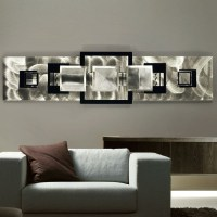 Contemporary Metal Wall Decor - Foter