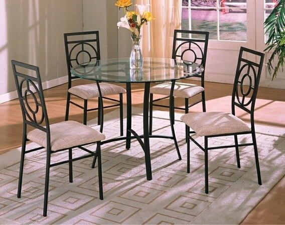 wrought iron dining chairs office chair fabric kitchen sets ideas on foter 2