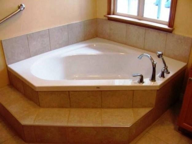 corner bathtub sizes - foter
