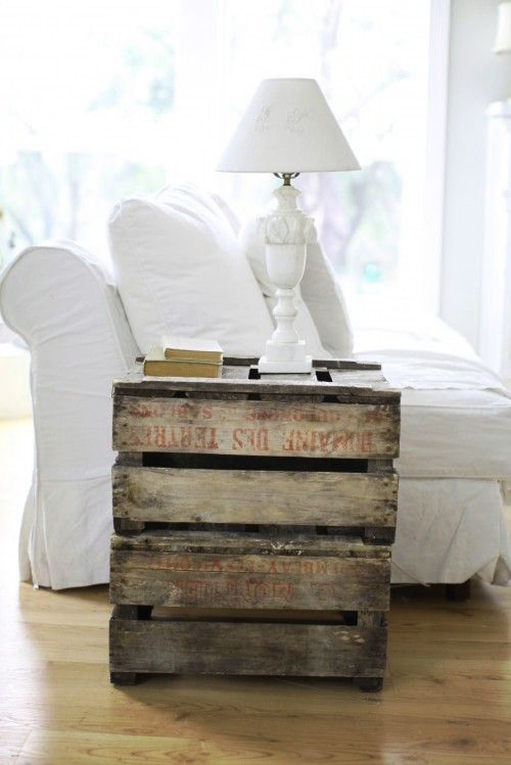 crate end table ideas on foter