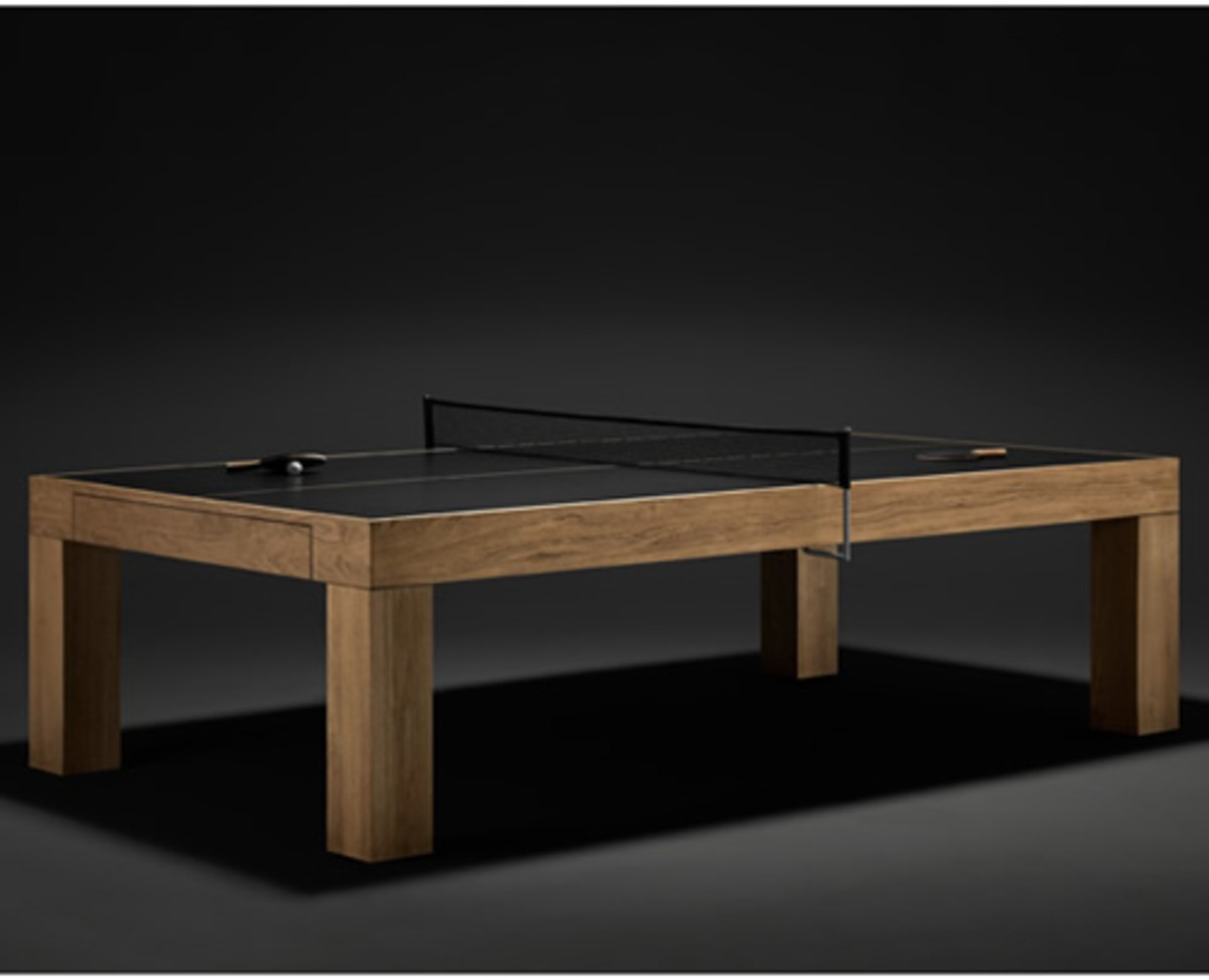 convertible ping pong table ideas on