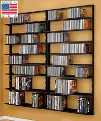 Wall Mount Dvd Storage