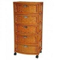 Wicker Linen Cabinet - Foter