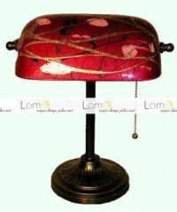 Tiffany Style Bankers Lamp
