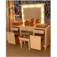 Vanity Dressing Table With Mirror And Lights - Foter