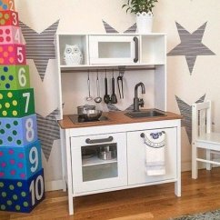Wooden Play Kitchen Decorative Shelves Kitchens Ideas On Foter 4