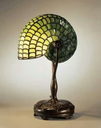 Nautilus Shell Table Lamp - Foter