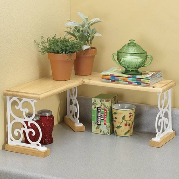 Kitchen Counter Shelf  Ideas on Foter