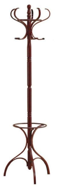 Wooden Coat Rack With Umbrella Stand - Foter