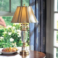 Antique Solid Brass Table Lamp - Foter